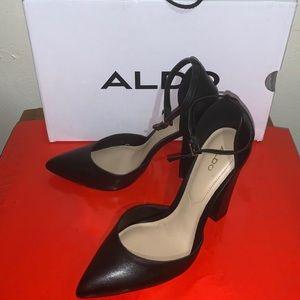 Aldo Nicholes-97 Black, Block Heels Sz.6.5